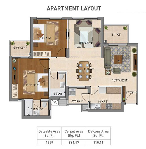 Hero Homes Floor Plan